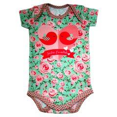 Body Bebê Estampado Jardim Encantado - Isabb