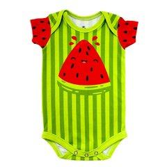Body Bebê Estampado Melancia Verde - Isabb