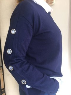 Sweater navy - andrea vasen