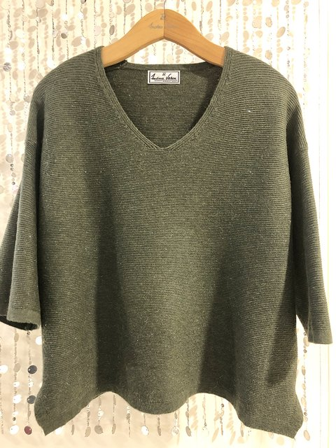 Sweater con lurex