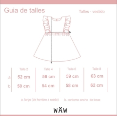 VESTIDO JUANA GIRLS en internet