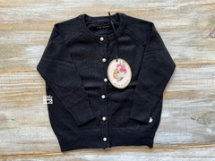 CARDIGAN EMMA BABY GIRLS (NEGRO)