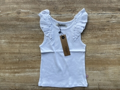MUSCULOSA STRASS GIRLS (BLANCO)