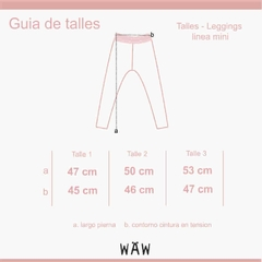 Waw Kids | LEGGINGS MAGNOLIA GIRLS