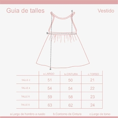 Waw Kids | VESTIDO MAGNOLIA GIRLS