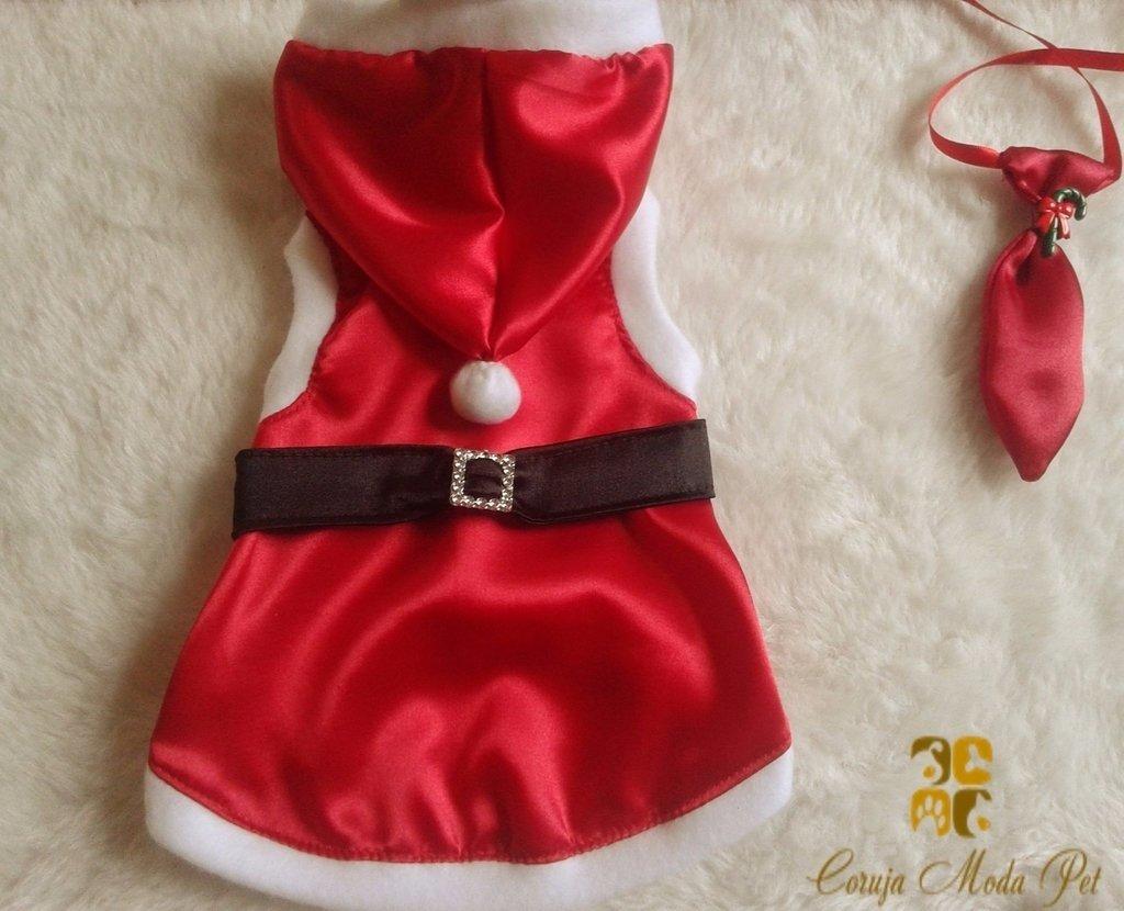 Roupa Papai Noel Comprar Em Coruja Moda Pet