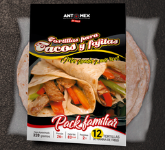 Tortillas de trigo Mexicanas - Antomex