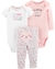 Set de 3 piezas Floral by Carters