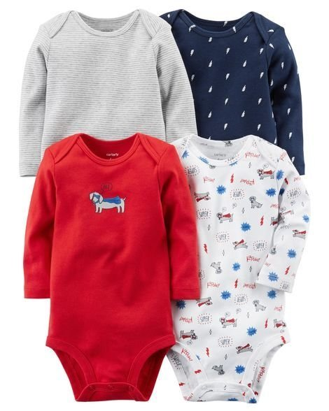 Set de bodys carters bebé nene