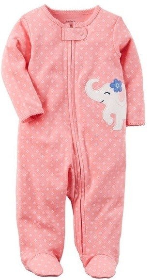 Body rosa elefante bebe nena by Carters