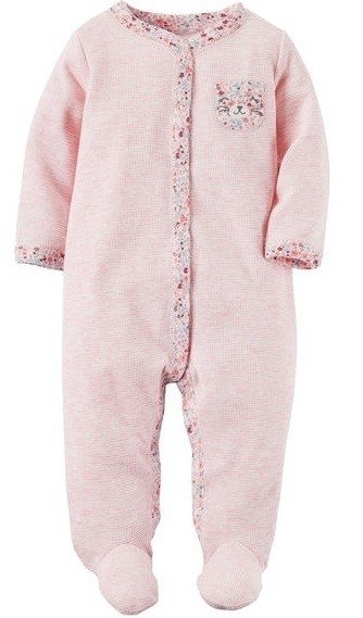 Body osito floral rosa bebe nena by Carters