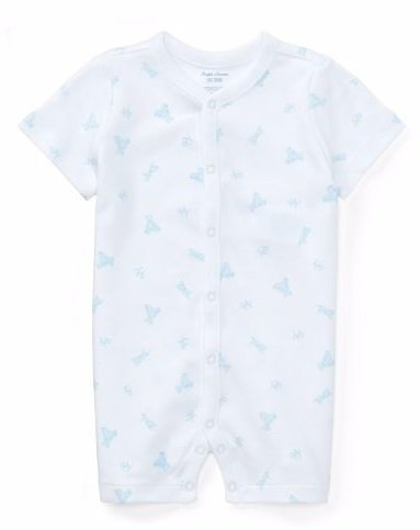 Body algodón Blanco Estampado bebe nene by Ralph Lauren