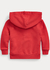 Hoodie Rojo Logo Grande French Terry by Ralph Lauren - comprar online