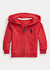 Hoodie Rojo Logo Grande French Terry by Ralph Lauren