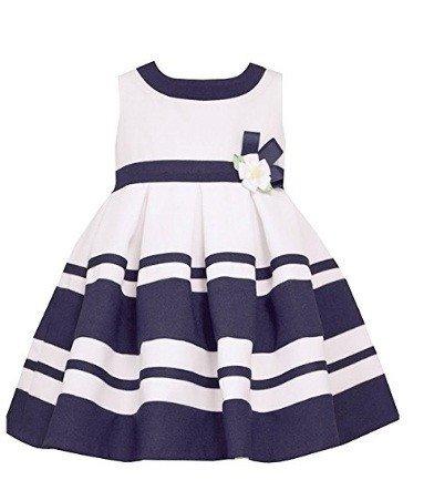 4cf127a12 Vestido Náutico con aplique bebe nena by Bonnie Baby