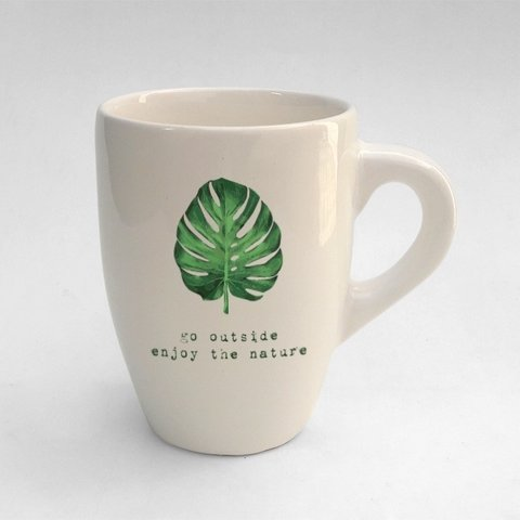 Taza Bombe XL Be Green