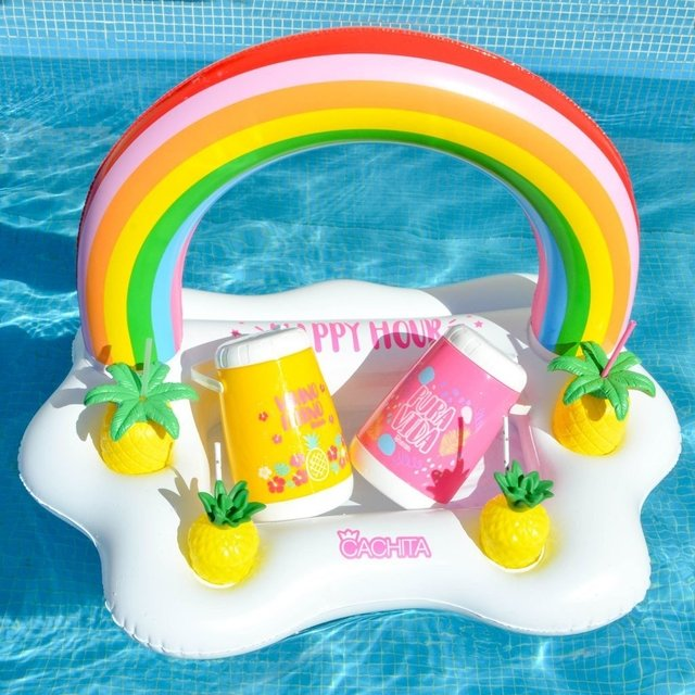 Inflable Multi Drink Arco Iris