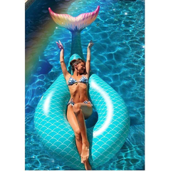 Inflable Sirena Ring en internet