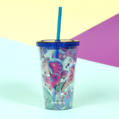 Vaso Doble estampado en internet