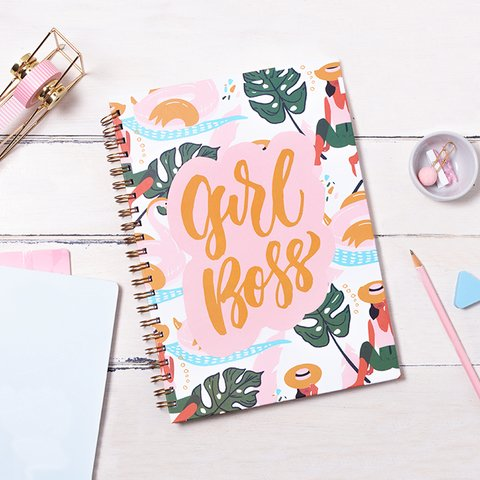 Cuaderno Girl Boss