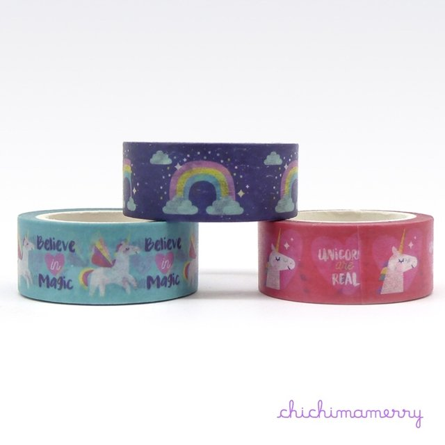 Washi Tapes Unicornio - comprar online