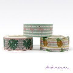 Washi Tapes Tropical - comprar online