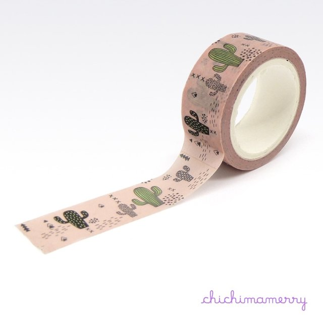 Washi Tapes Cactus - Chichimamerry