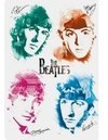 (1159) Pintura com Diamante - The Beatles - 25x20 cm - Total
