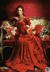 (1216) Pintura com Diamante - Beauty in Red - 30x20 cm - Total