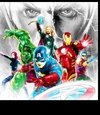 (1235) Pintura com Diamante - The Avengers 2 - 25x25 cm - Total
