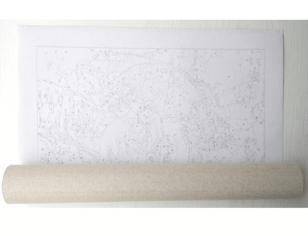 91803af7fa5 1481) Pintura em Tela Numerada - Quarto em Arles  Van Gogh