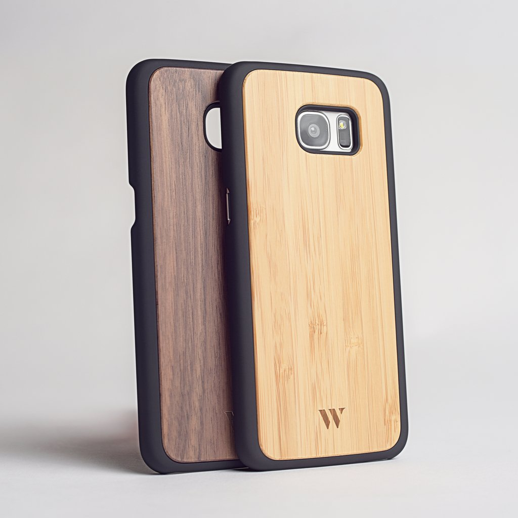Pack (x2) S7 Edge - Siena & Walnut
