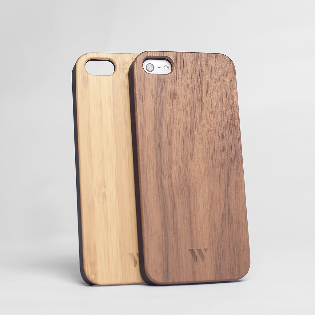 Pack (x2) iPhone 5 / 5s / SE - Siena & Walnut