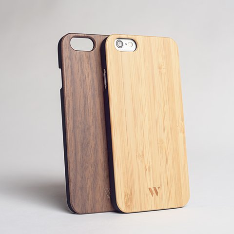Pack (x2) iPhone 6 / 6s - Siena & Walnut