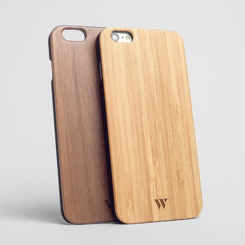 Pack (x2) iPhone 6 Plus / 6s Plus - Siena & Walnut