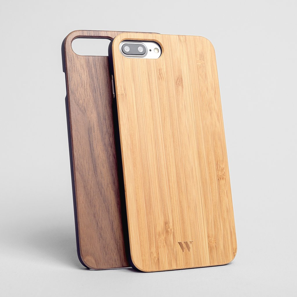 Pack (x2) iPhone 7 Plus / 8 Plus - Siena & Walnut