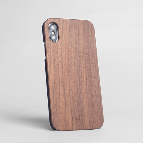 iPhone X - Walnut