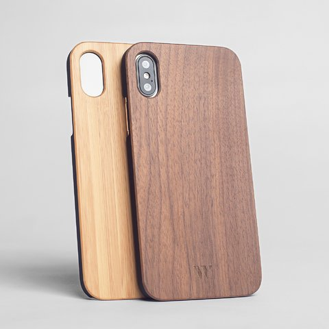Pack (x2) iPhone X - Siena & Walnut