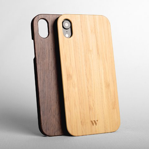 Pack (x2) iPhone Xr - Siena & Walnut