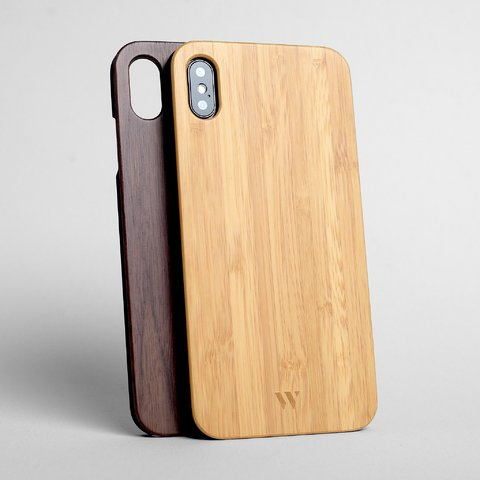 Pack (x2) iPhone Xs Max - Siena & Walnut