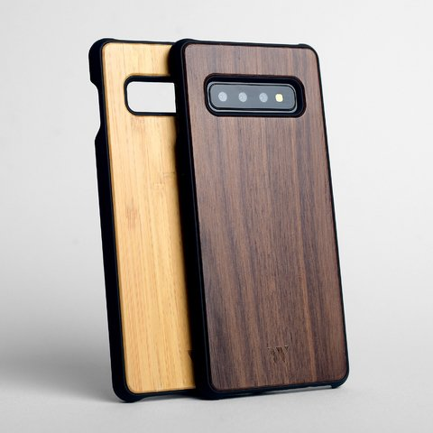 Pack (x2) Galaxy S10 Plus - Siena & Walnut