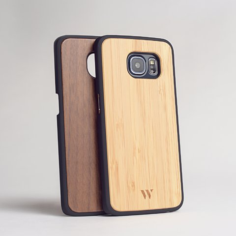 Pack (x2) S6 Edge - Siena & Walnut