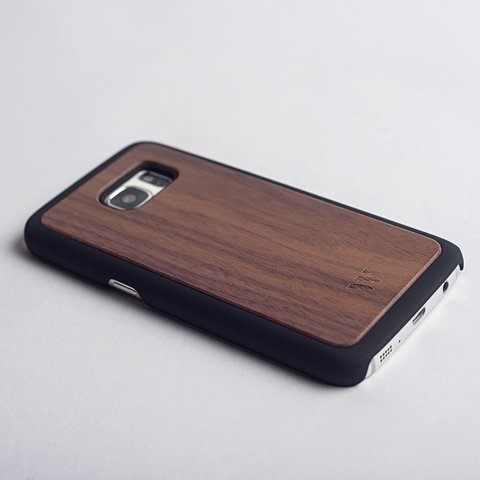Galaxy S7 Flat - Walnut