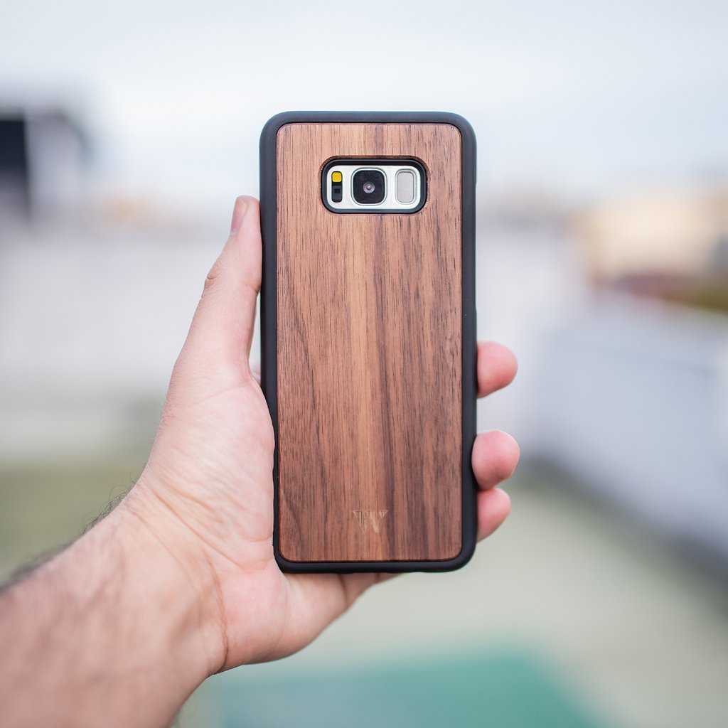 Galaxy S8 Plus - Walnut
