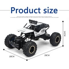 Carro de Controle Remoto Off-Rroad RC 4WD 4x4 Motores Bigfoot - AG Shop