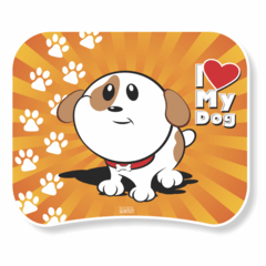 1127-Mouse Pad Love My Dogs - comprar online