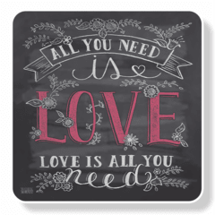 1159-Mouse Pad Need is Love