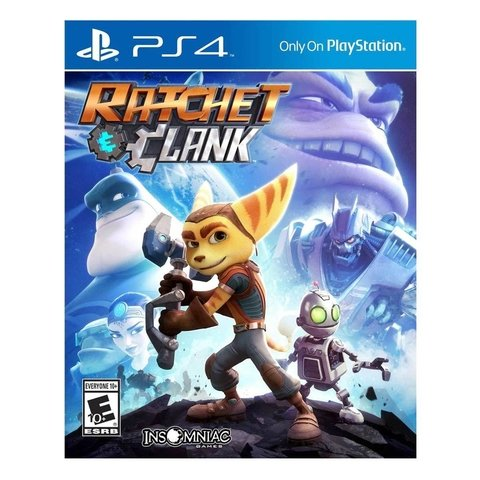 Juego RATCHET and CLANK PS4 - Disco Original (NCV208)