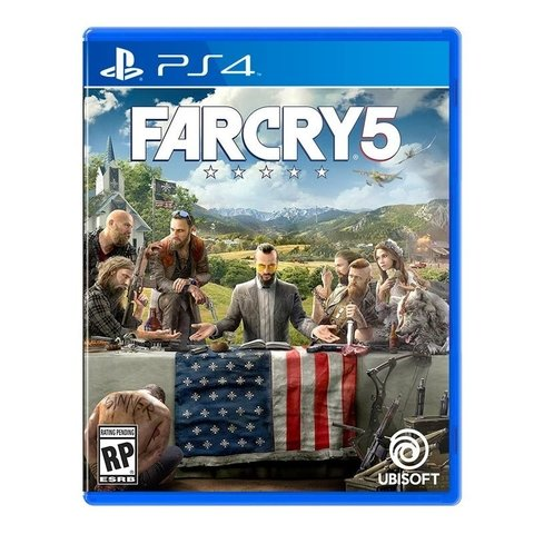 Juego Far Cry 5 Standard Edition PS4 (NCV262)
