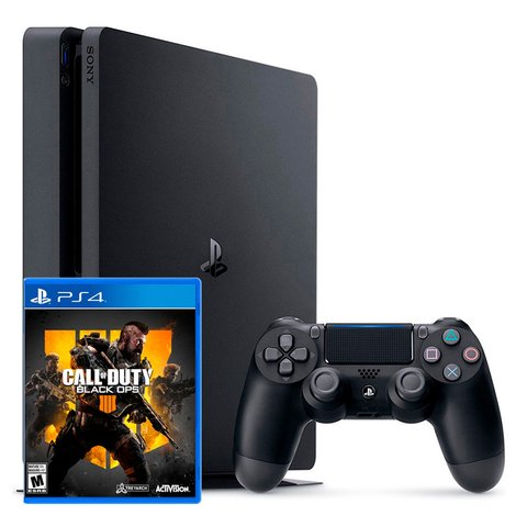 Consola Sony Ps4 Playstation 4 1tb Slim + Juego Call Of Duty Black Ops 4 (NCV275)